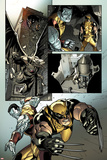 X-Men No.2: Wolverine and Colossus Fighting Prints by Paco Medina