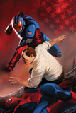 Amazing Spider-Man Presents: American Son No.4 Cover: American Son Fighting Poster par Marko Djurdjevic
