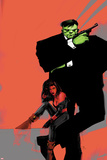 Incredible Hulks No.626 Cover: Hulk and Red She-Hulk Posters by  Jock