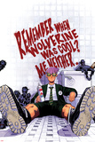 Chris Bachalo - Wolverine & The X-Men No.3 Cover: Quentin Quire Sitting in the Bathroom Plakát
