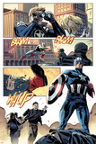 Captain America No.615: Panels with Captain America Prints by Mitchell Breitweiser