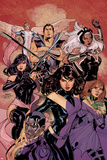 Uncanny X-Men No.538 Cover: Kitty Pryde, Psylocke, Colossus, Hope Summers, Storm, Namor, and Angel Photo by Terry Dodson
