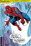 Marvel Comics Retro: The Amazing Spider-Man Comic Panel Reprodukcje