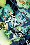 Captain America No.9 Cover: Sharon Carter Affiches par Alan Davis