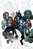 Spider-Girl: The End! No.1 Cover: Spider-Girl and Mayhem Print by Sal Buscema