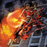 Heroes For Hire No.11 Cover: Elektra and Misty Knight Jumping Prints by Jay Anacleto