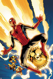 New Avengers No.4 Cover: Spider-Man Jumping Posters by Stuart Immonen