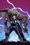 Onslaught Unleashed No.3 Cover: Steve Rogers, Nomad and Spider-Girl Prints by Humberto Ramos