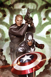 Captain America: Hail Hydra No.5: Captain America and Steve Rogers Posters by Adi Granov