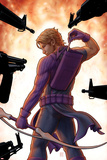 Avengers: Solo No.5 Cover: Hawkeye Trapped, Drawing and Arrow Posters by John Tyler Christopher