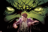 Marvel Knights: Hulk 2 Cover: Hulk, Banner, Bruce Print by Piotr Kowalski