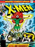 Marvel Comics Retro: The X-Men Comic Book Cover No.101, Phoenix, Storm, Nightcrawler, Cyclops Plakaty