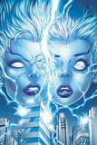 X-Men Forever 2 No.13 Cover: Storm and Ro Posing Posters by Tom Grummett
