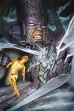 Hunger 2 Cover: Galactus, Silver Surfer, Jones, Rick Poster by Adi Granov