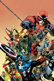 Leinil Francis Yu - I am an Avenger No.1 Cover: Captain America, Thor, Wolverine, Hulk, Ant-Man, Vision, and Iron Man Obrazy