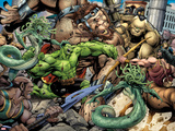 Incredible Hulks No.621: Hulk Fighting Prints by Paul Pelletier