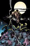 Daken: Dark Wolverine No.7 Cover: Daken Under the Moon at Knight Posters by Giuseppe Camuncoli