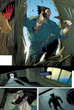 Wolverine No.10: Panels with Logan Smashing In Poster by Renato Guedes