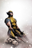 Wolverine No.14 Cover: Wolverine Kneeling Posters by Jae Lee