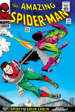 Marvel Comics Retro: The Amazing Spider-Man Comic Book Cover No.39, Green Goblin Poster