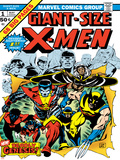 Marvel Comics Retro: The X-Men Comic Book Cover No.1 Posters