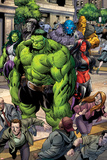 Incredible Hulks No.621: Hulk, Red She-Hulk, and She-Hulk Prints by Paul Pelletier