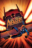 Secret Avengers No.17 Cover: Steve Rogers Falling in front of a Truck Poster by John Cassaday