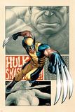 Savage Wolverine 5 Cover: Wolverine Posters av Frank Cho