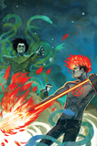 Journey Into Mystery No.635 Cover: Nightmare and Hellstrom Face Eachother Prints by Stephanie Hans