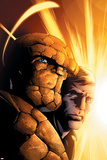 Fantastic Four 8 Cover: Thing, Grimm, Ben Pósters por Mark Bagley