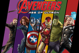 The Avengers: Age of Ultron - Hawkeye, Black Widow, Captain America, Iron Man, Hulk, and Thor Affiches