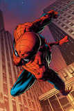 Joe Quesada - Amazing Spider-Man No.641: Spider-Man Swinging Plakáty