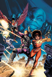 Heroes For Hire No.5 Cover: Misty Knight, Paladin, Falcon, Iron Fist Posters by Doug Braithwaite