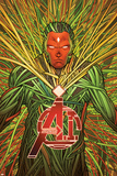 Avengers A.I. 8 Cover: Vision Prints by David Marquez