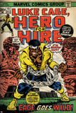 Marvel Comics Retro: Luke Cage, Hero for Hire Comic Book Cover No.15, in Chains (aged) Obrazy