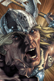 Thor: For Asgard No.3 Cover: Thor Screaming Posters by Simone Bianchi