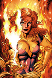 X-Men Forever 2 No.16 Cover: A Flaming Phoenix Prints by Tom Grummett