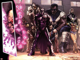 New Avengers Annual No.1: D-Man, Atlas, Anti-Venom, Ethan Edwards, Goliath, Devil-Slayer and Others Print by Gabriele DellOtto