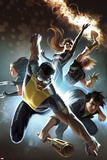 Fear Itself: The Home Front No.6 Cover: Power Man, Amadeus Cho, X-23, Spider-Girl, & Thunderstrike Posters by Marko Djurdjevic