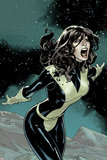 Uncanny X-Men No.537 Cover: Kitty Pryde Screaming at Night Prints by Terry Dodson