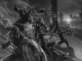 The Avengers: Age of Ultron - Concept Art Sketch Plakát