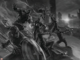 The Avengers: Age of Ultron - Concept Art Sketch Posters