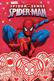 Spider Sense Spider-Man: Valentines and Hearts, Spider-Man Posing Poster
