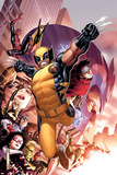 Avengers: The Childrens Crusade No.2 Cover: Wolverine, Wiccan, Spider-Man, and Magneto Poster by Jim Cheung