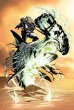 X-Club No.3: Dr. Nemesis Riding a Shark Reprodukcje autor Paul Davidson