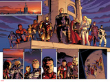 Fear Itself No.1: Spider Woman, Spider-Man, Wolverine, Iron Man, Steve Rogers, Thor and Others Photo by Stuart Immonen