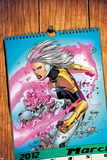 Thunderbolts No.171 Cover: A Calendar with Songbird Prints by Kev Walker
