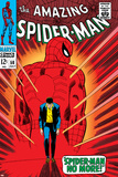 Marvel Comics Retro: The Amazing Spider-Man Comic Book Cover No.50, Spider-Man No More! Poster
