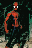 X-Men No.7: Spider-Man Plakat af Chris Bachalo