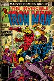 Marvel Comics Retro: The Invincible Iron Man Comic Book Cover No.127, Against the Super-Army! Reprodukcje